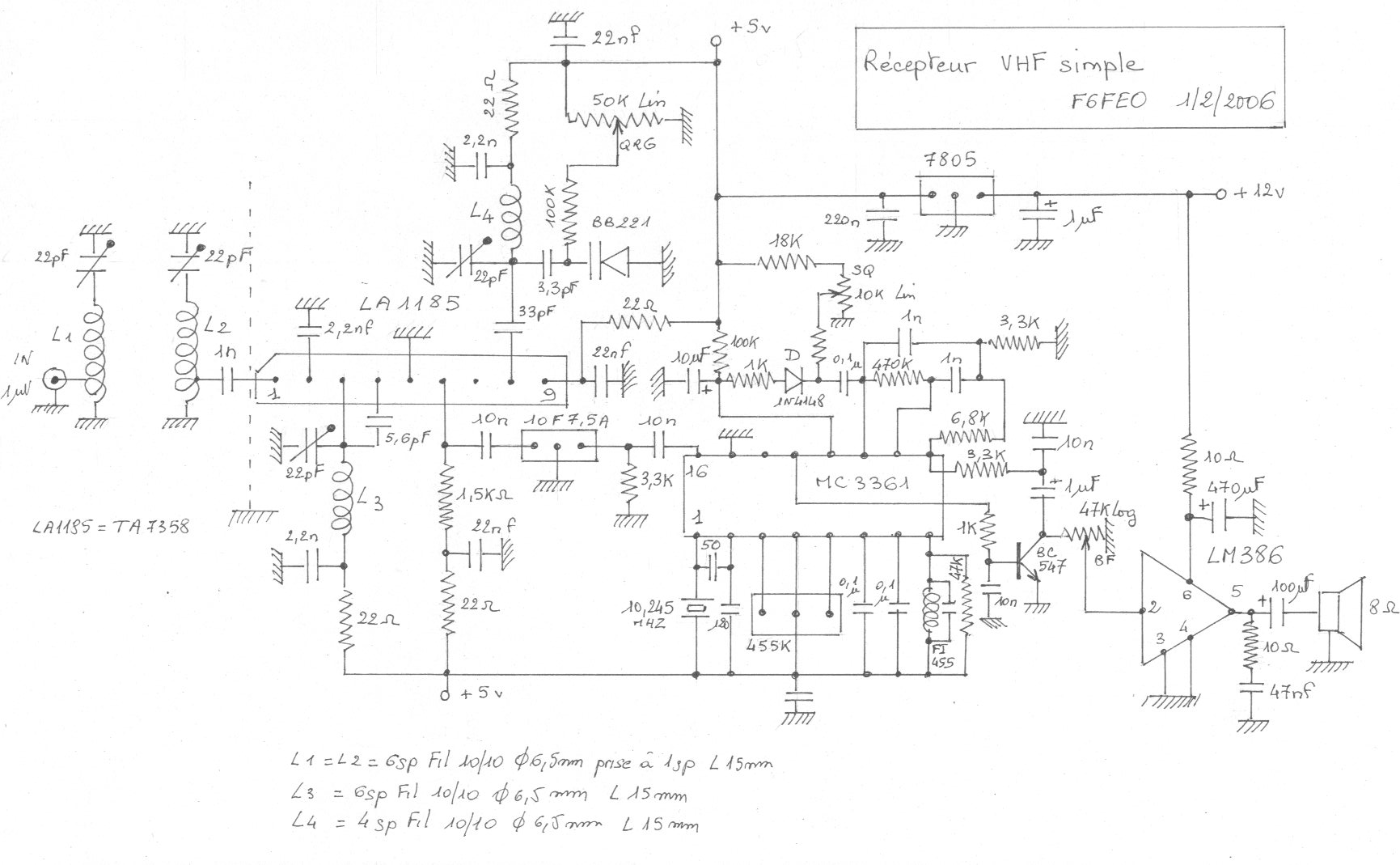 An7203 схема включения